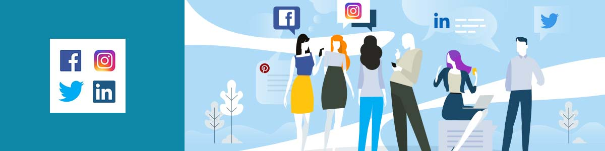 curso diseño gráfico redes sociales. Trébol Formación